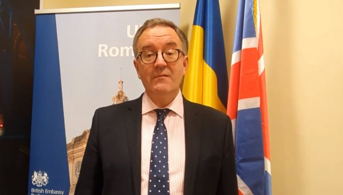 Ambasadorul Marii Britanii la București, Andrew Noble